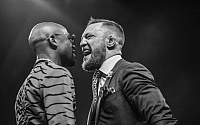 Pictures: Conor McGregor, Floyd Mayweather Invade London