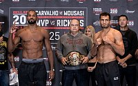 Bellator 200 Weigh-in Pictures