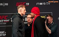 Pictures: UFC Moscow Media Day
