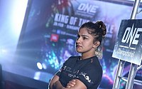 One Championship Ritu 'The Indian Tigress' Phogat Open Workout Pictures