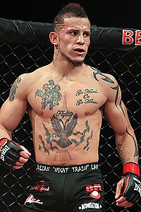 Julian nitrane lane mma stats pictures news videos for 42 tattoo mansfield ohio