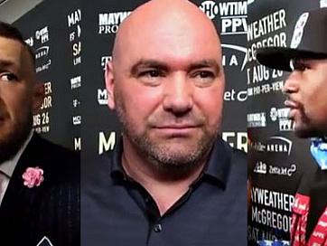 Reaction Videos: McGregor, Mayweather & Dana White