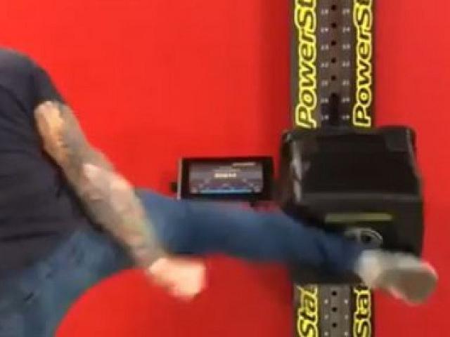 Joe Rogan Uses Kicks to Break Francis Ngannou's Power Record at UFC